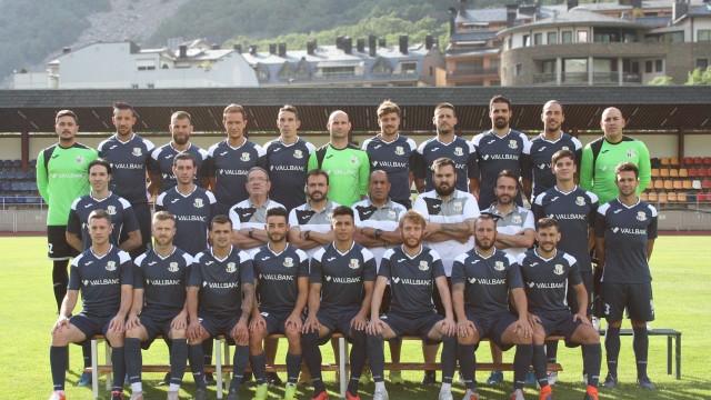 foto equip FC Santa Coloma 2019-2020