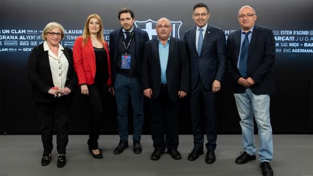 LLOTJA PRESIDENCIAL - FC BARCELONA - VILLAREAL